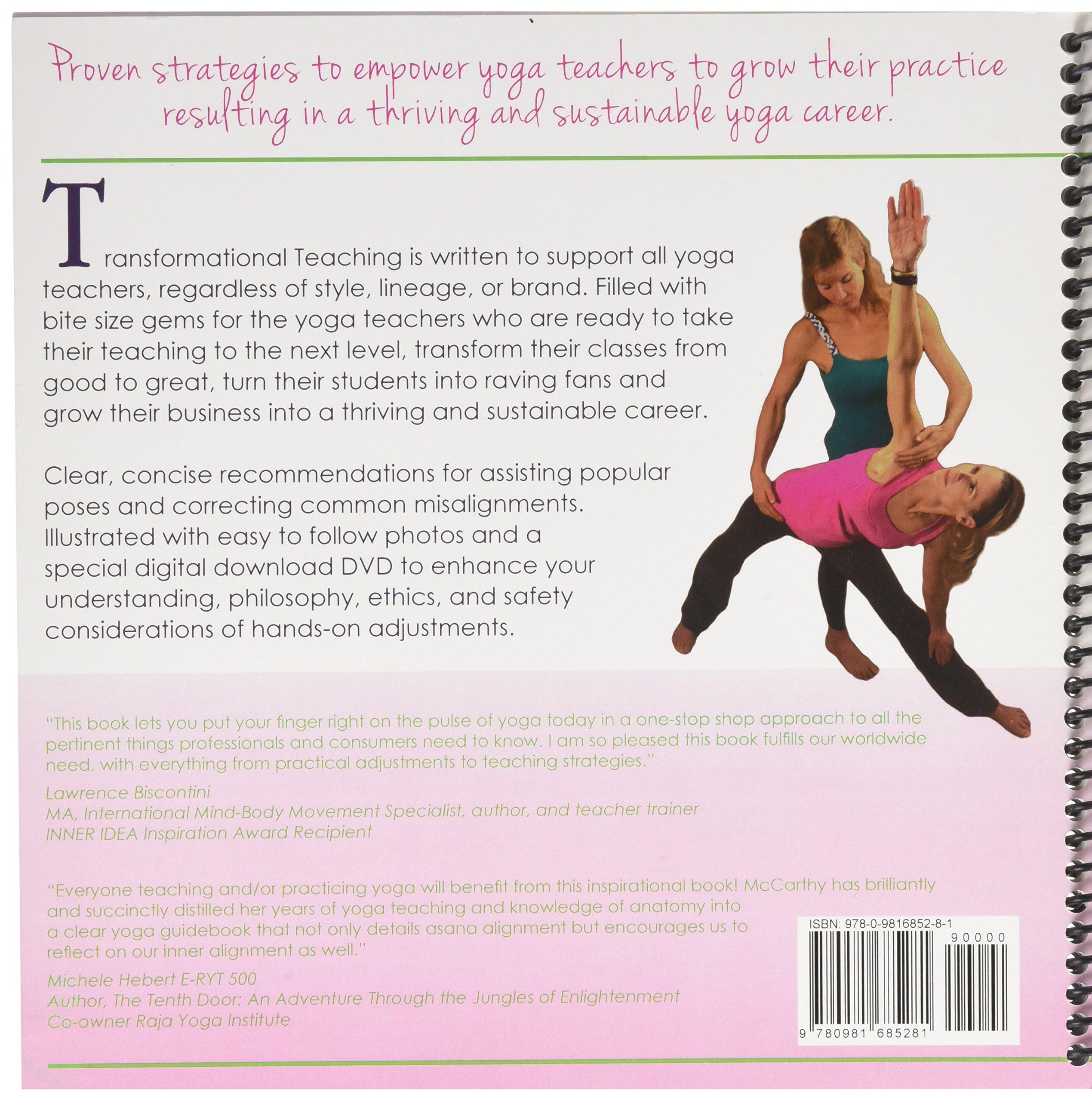 Transformational Teaching Through Yoga Adjustments: Stacy ...