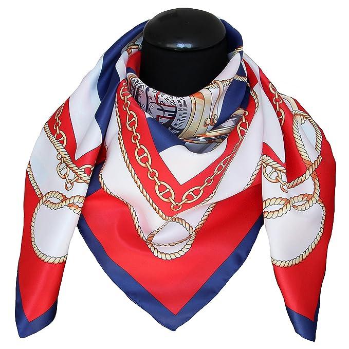 4b35fb657df1c tessago Fular - para mujer Rojo rojo Talla única foulard dis 62584 var 1  Adornos de navidad