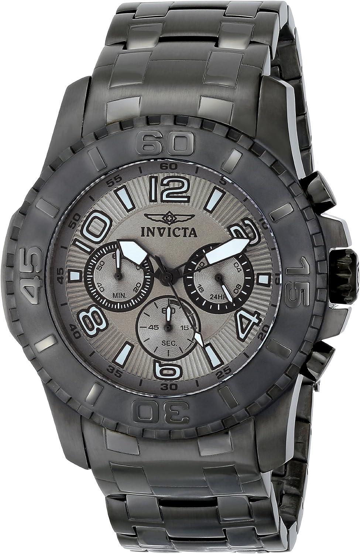 Invicta Men s 15024 Pro Diver Analog Display Japanese Quartz Grey Watch