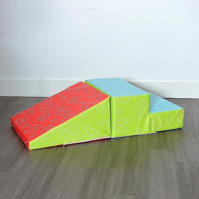 Milliard escaleras de Espuma niño Suaves y Juguete de Gimnasio de rampa Escalador: Amazon.es: Juguetes y juegos