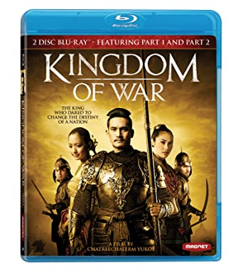 Amazon com: Kingdom of War Part 1 and Part 2 [Blu-ray