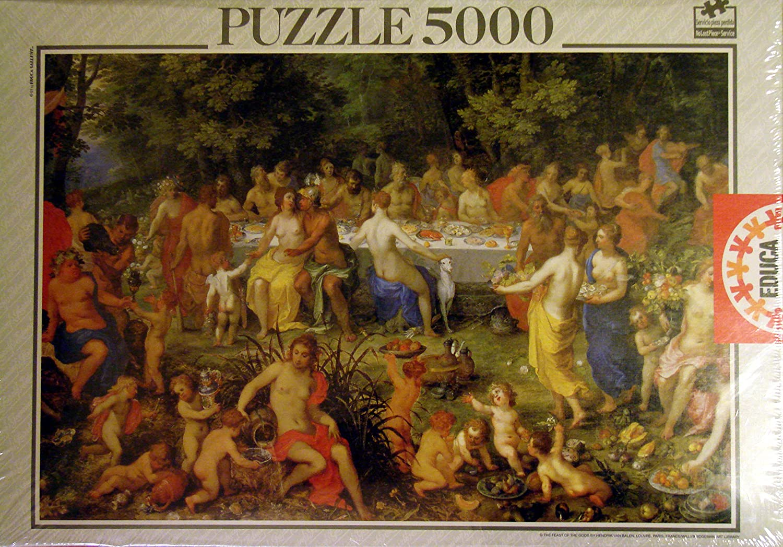 Educa Borrás Puzzle 5000 Piezas La Fiestas De: Amazon.es: Juguetes y juegos