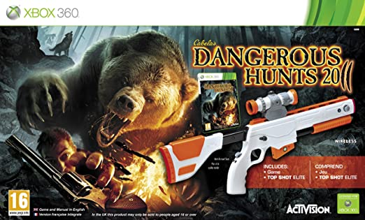 Cabelas Dangerous Hunts 2011 with Top Shot Elite (Xbox 360) [Importación inglesa]: Amazon.es: Videojuegos