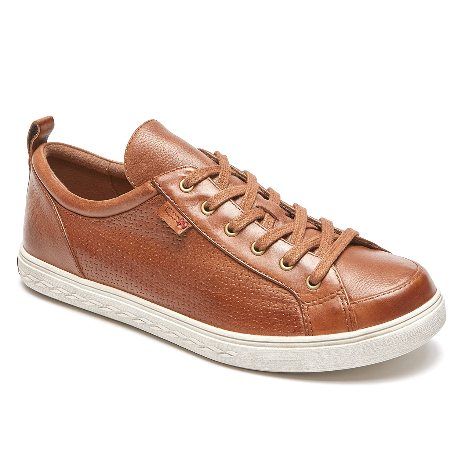 Cobb Hill Women's Willa Lace to Toe Sneaker B01MZIS4YR 5.5 W US|Almond Leather