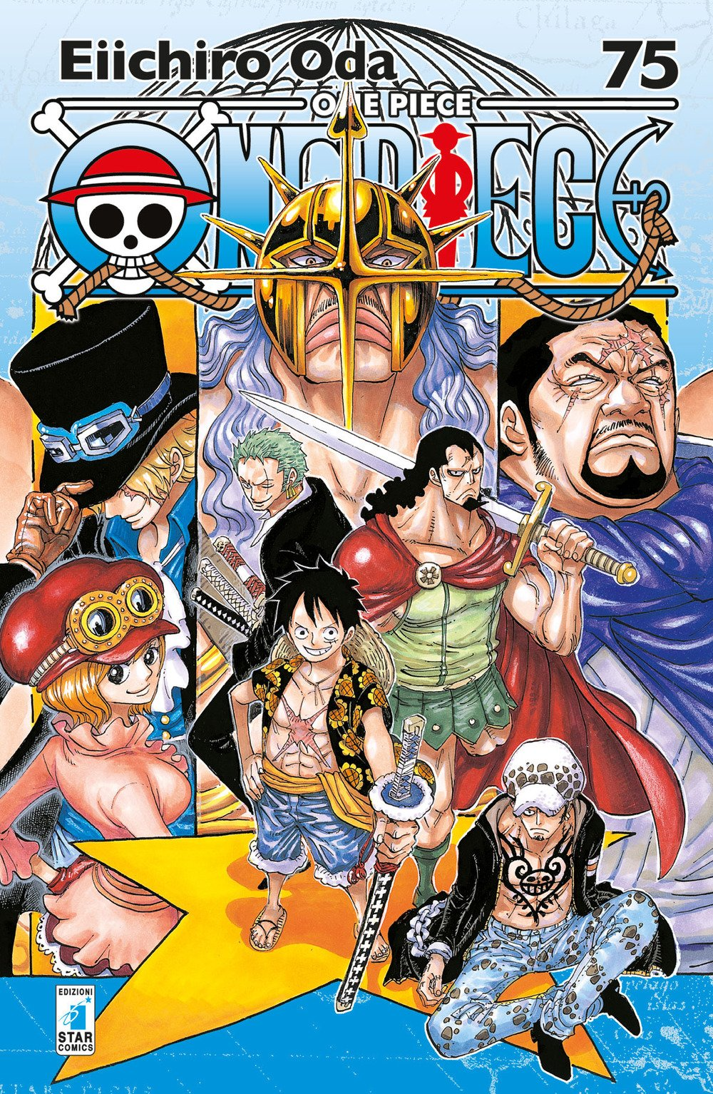 One piece. New edition: 75 Copertina flessibile – 16 ott 2017 Eiichiro Oda Yupa Star Comics 8822607414