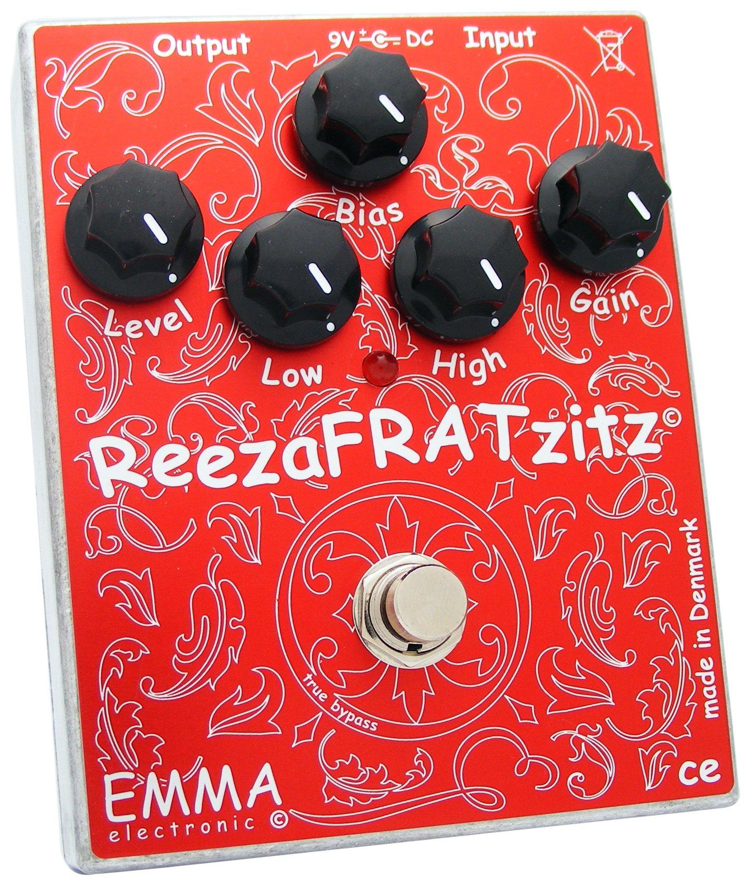EMMA Electronic RF-2 ReezaFRATzitz II Guitar Distortion Effect Pedal