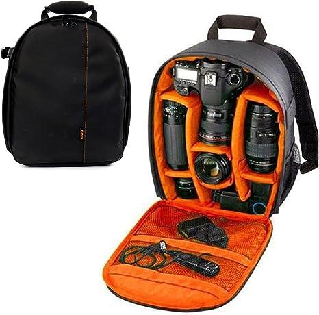 Etui DSLR pour appareil photo étanche Sac dos bandoulière pour Canon Nikon Sony