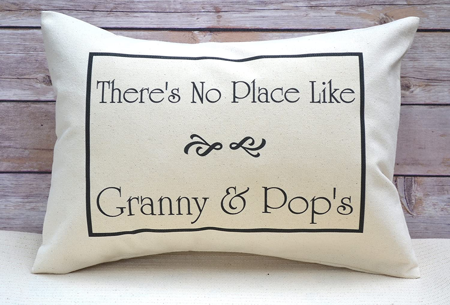 Grandma Gift Personalized Pillow for the hard to buy or Grandparents
