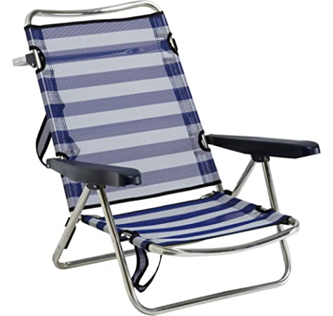 Alco 604ALF-0056 Silla Cama Playa Aluminio Fibreline Color 56