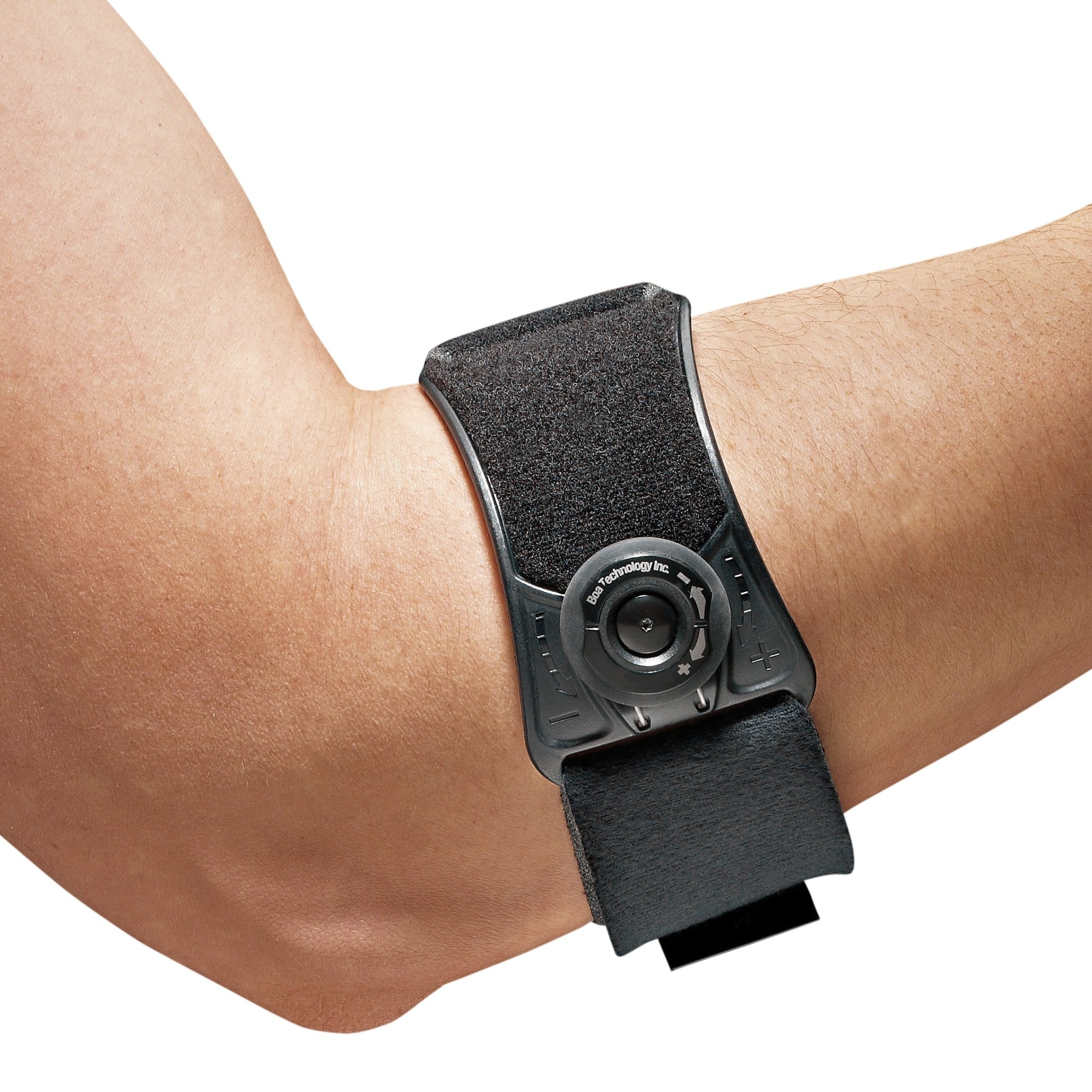 Futuro Sport Custom Dial Tennis Elbow Strap, Adjust to Fit, Firm Stabilizing Support