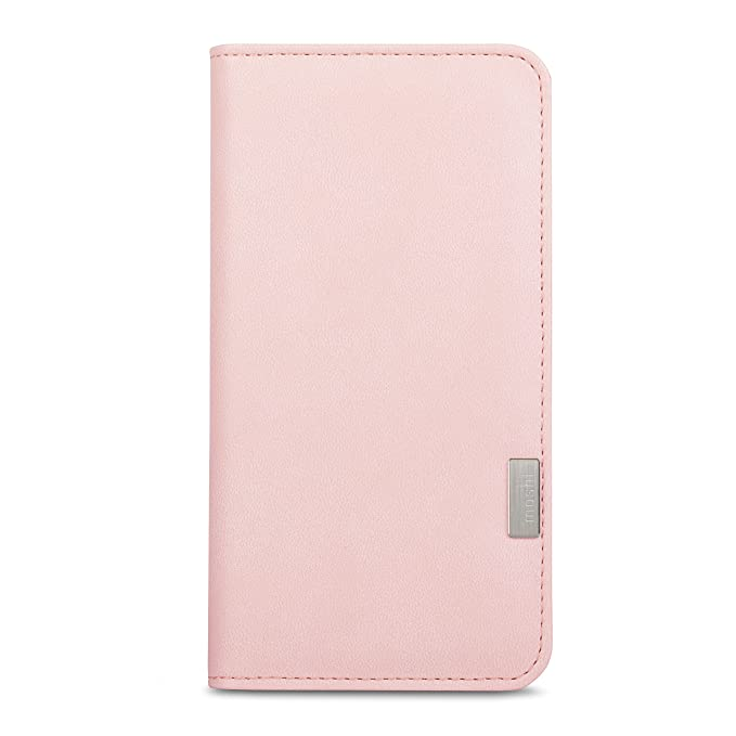 more photos 5294a 733bf Moshi Overture iPhone 7 Plus Case (Wallet Case) - Pink