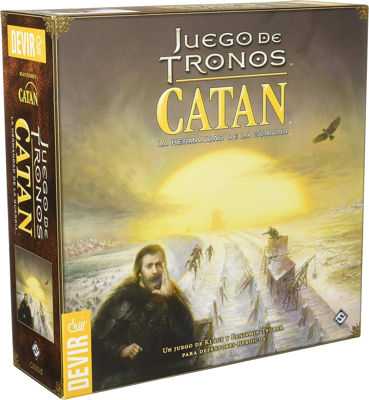 Devir Iberia- Catan Juego de Tronos, única (25921): Amazon.es ...