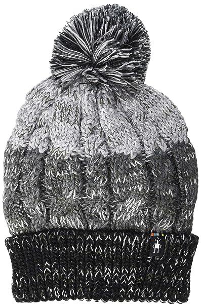 1ae4113cfed Amazon.com  SmartWool Unisex Isto Retro Beanie Black Medium Gray Heather One  Size  Clothing