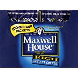 Maxwell House Instant Coffee, 100 packets