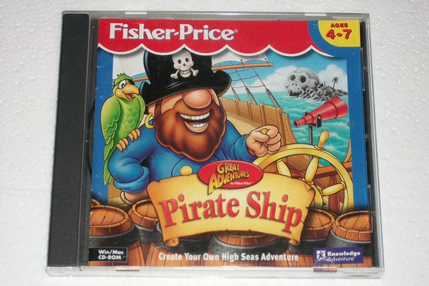Amazon Com Fisher Price Great Adventures Pirate Ship