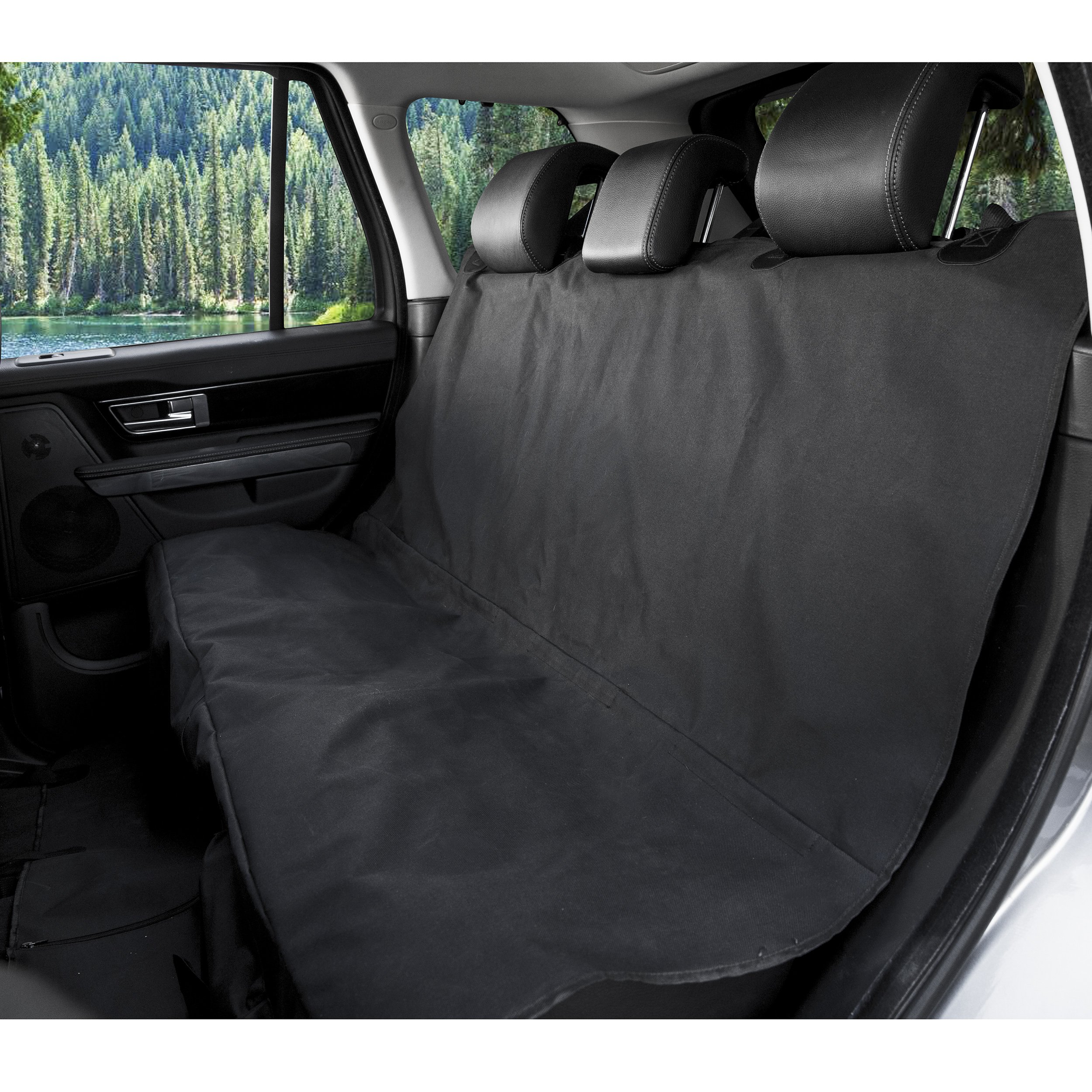Barksbar Original Pet Seat Cover For Cars Black