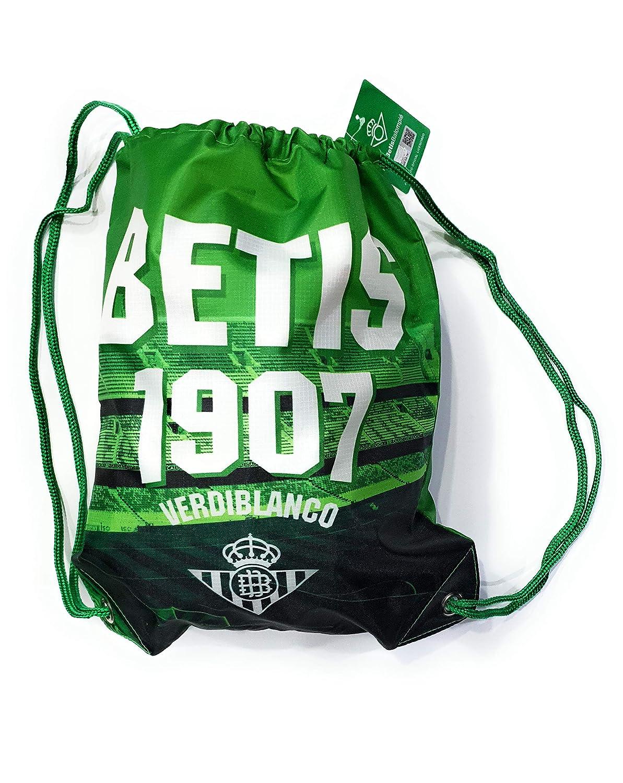 Kappa - Bolsa de gimnasio Real Betis Balompié - 1907 Verdiblanco - Verde - Talla única 16MC0049