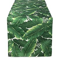DII CAMZ38589 BANANA LEAF OUTDOOR TABLERUNNER 14x72