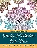 Paisley & Mandala Anti Stress: Adult Coloring Book Sets