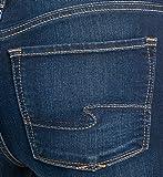 Silver Jeans Co. Women's Bleecker Slim Fit Mid Rise