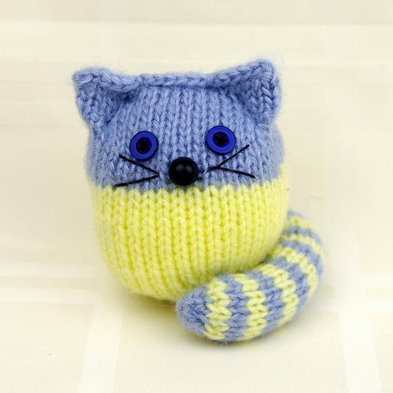 Blue and Yellow Kitten