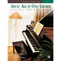 Alfred's Basic Adult All-in-one Piano Course: Lesson * Theory * Solo, Comb Bound Book: 3