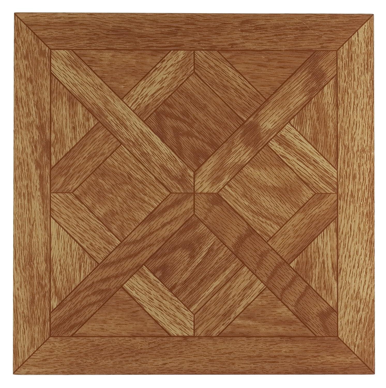Achim Home Furnishings FTVWD20120 Nexus Vinyl Tile, Wood Classic Parquet Oak, 12-Inch, 20-Pack