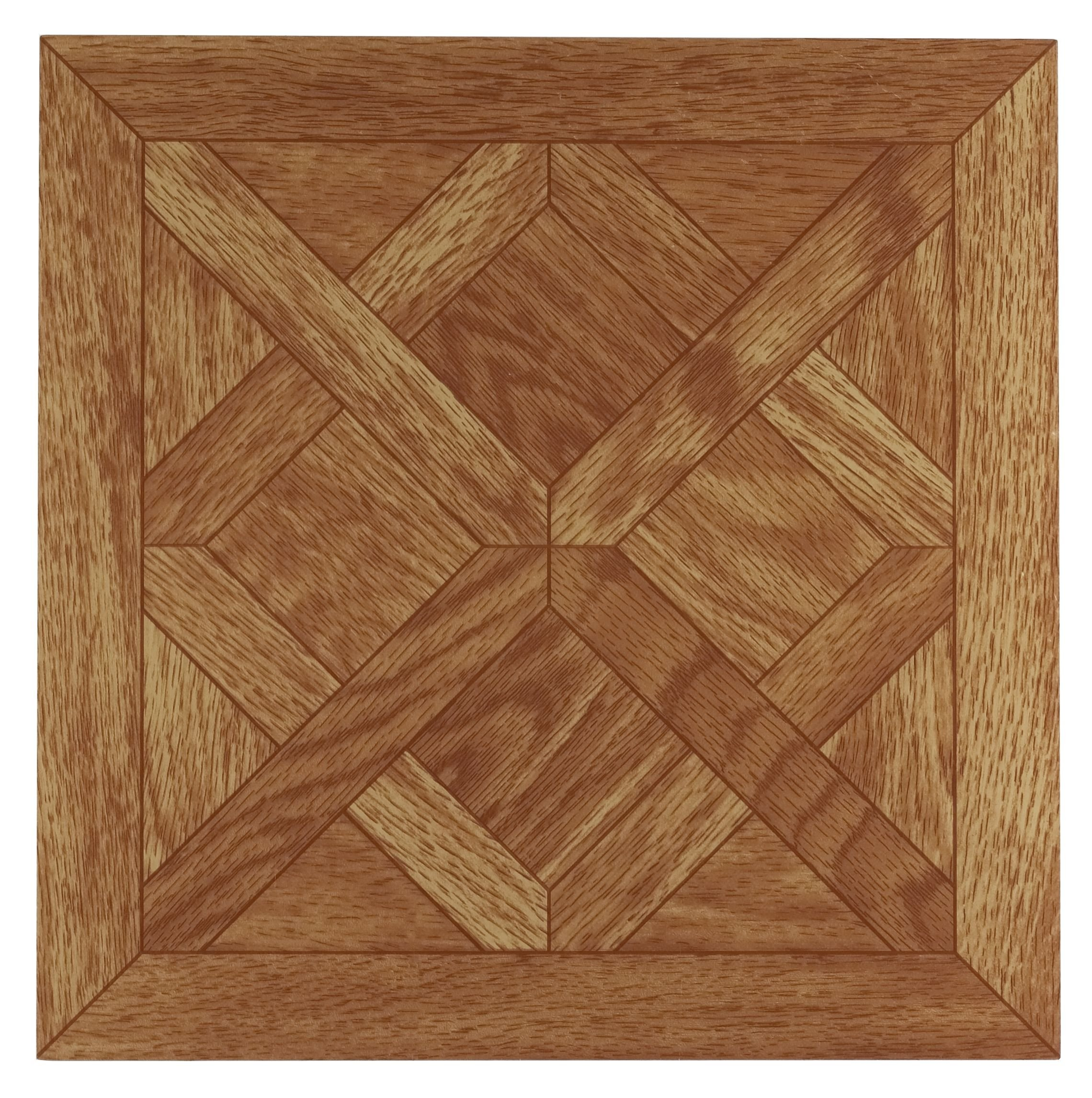 Achim Home Furnishings FTVWD20120 Nexus 12-Inch Vinyl Tile, Wood Classic Parquet Oak, 20-Pack by Achim Home Furnishings