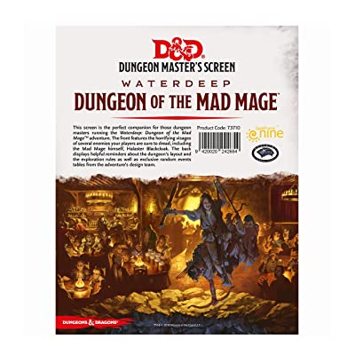 Dungeons & Dragons - Dungeon of The Mad Mage DM Screen: Toys & Games