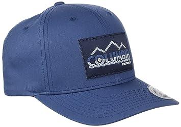 Columbia Trail Essential Gorra, Hombre, Azul (Carbon)/Logo Peak, Talla única Ajustable: Amazon.es: Deportes y aire libre