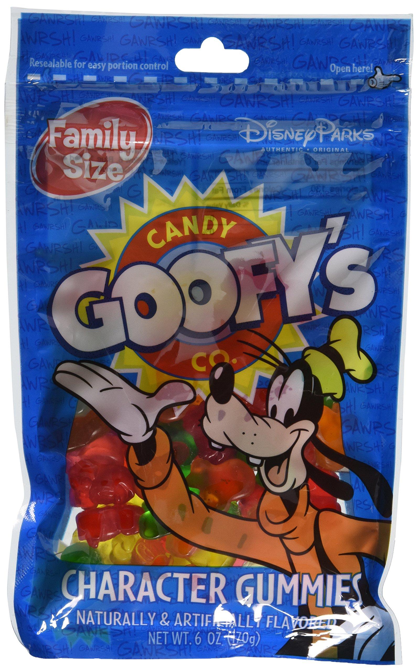 Disney Goofy's Candy Company Mickey Mouse Character Gummies 6oz Bag
