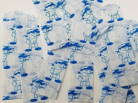 Small Colors /& Designs Vellum Glassine Stamp Wax Paper Envelope Bags Helmet Skulls, 600 Bags 20mm//22mm