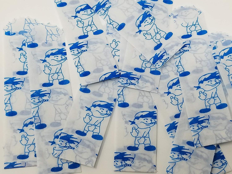 600pcs//bx NEW WORLD Vellum Wax Paper Envelope Bags 20mm//22mm Small New World