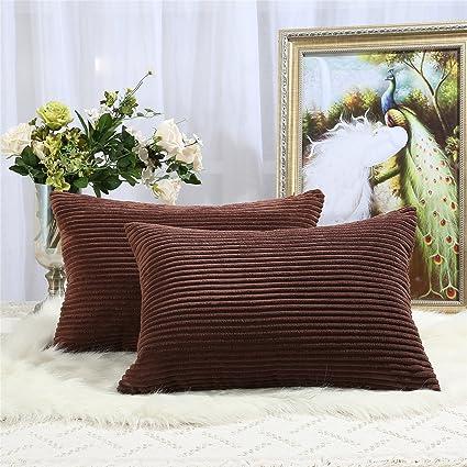 Amazon.com: Miaote - Juego de 2 fundas de almohada ...
