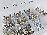 50 pcs Dual Gang Stereo 6-pin Potentiometer