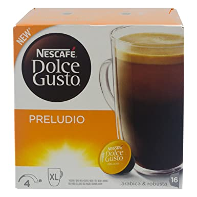 Nescafe Dolce Gusto Preludio Coffee Large Coffee Coffee Cup Serving 32 Capsules