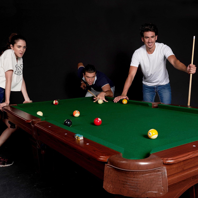 Elegant Amazon.com : MD Sports Traditional Square Leg Billiard Table, 8u0027 : Sports U0026  Outdoors