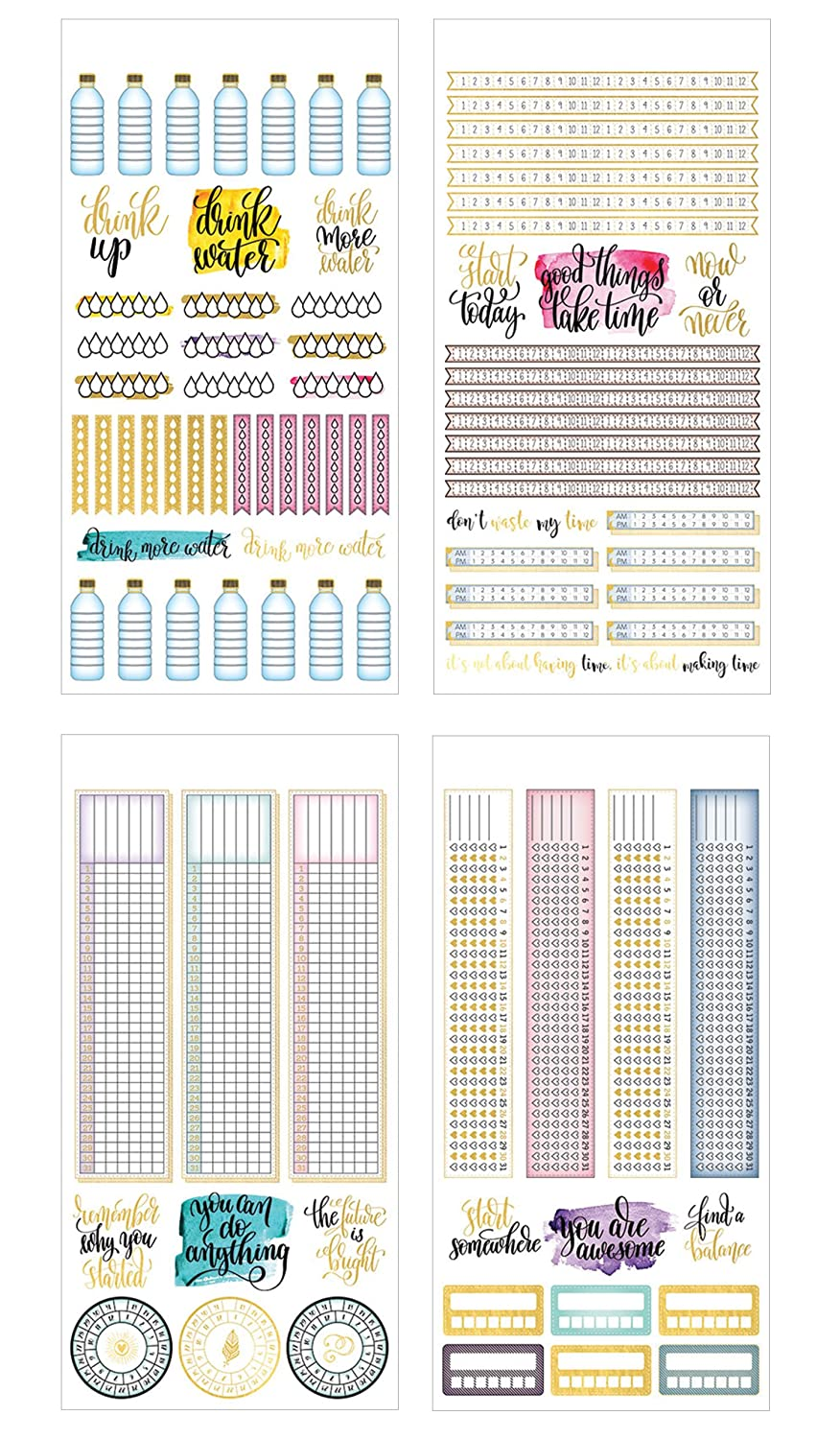 Paper House Productions SET-0015E Sticker Label Assorted Colors Decal
