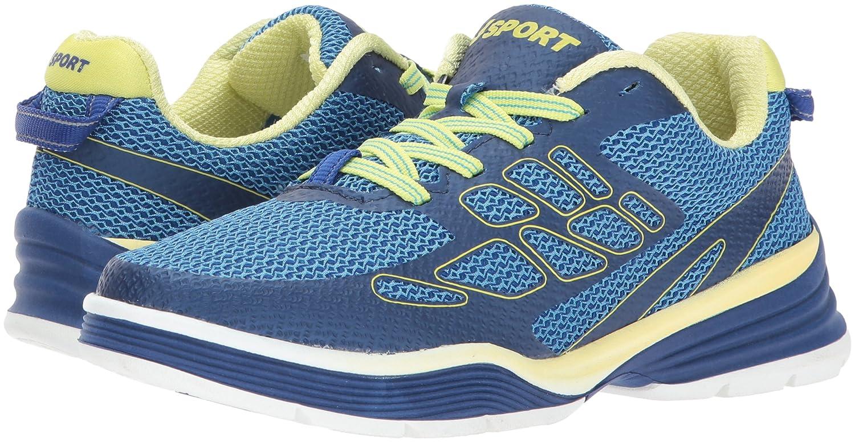 JSport by Jambu Women's Sport 11 Walker Fashion Sneaker B07194Z2T1 11 Sport B(M) US|Deep Blue/Neon Yellow 8dbd39