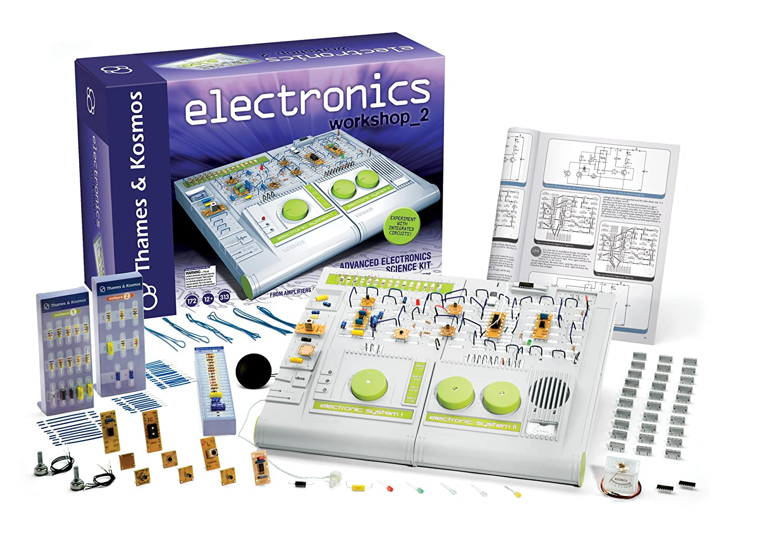 Thames Kosmos Technology And Electronics Beginning Circuitry Build A Metronome Workshop 2 Toys Games