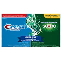 Crest Complete Whitening + Scope Toothpaste, Minty Fresh - Value Pack Of 3