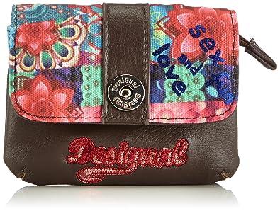 UPortefeuille Small Wallet Desigual Paulina 3119 Femme Mone P0k8wOn