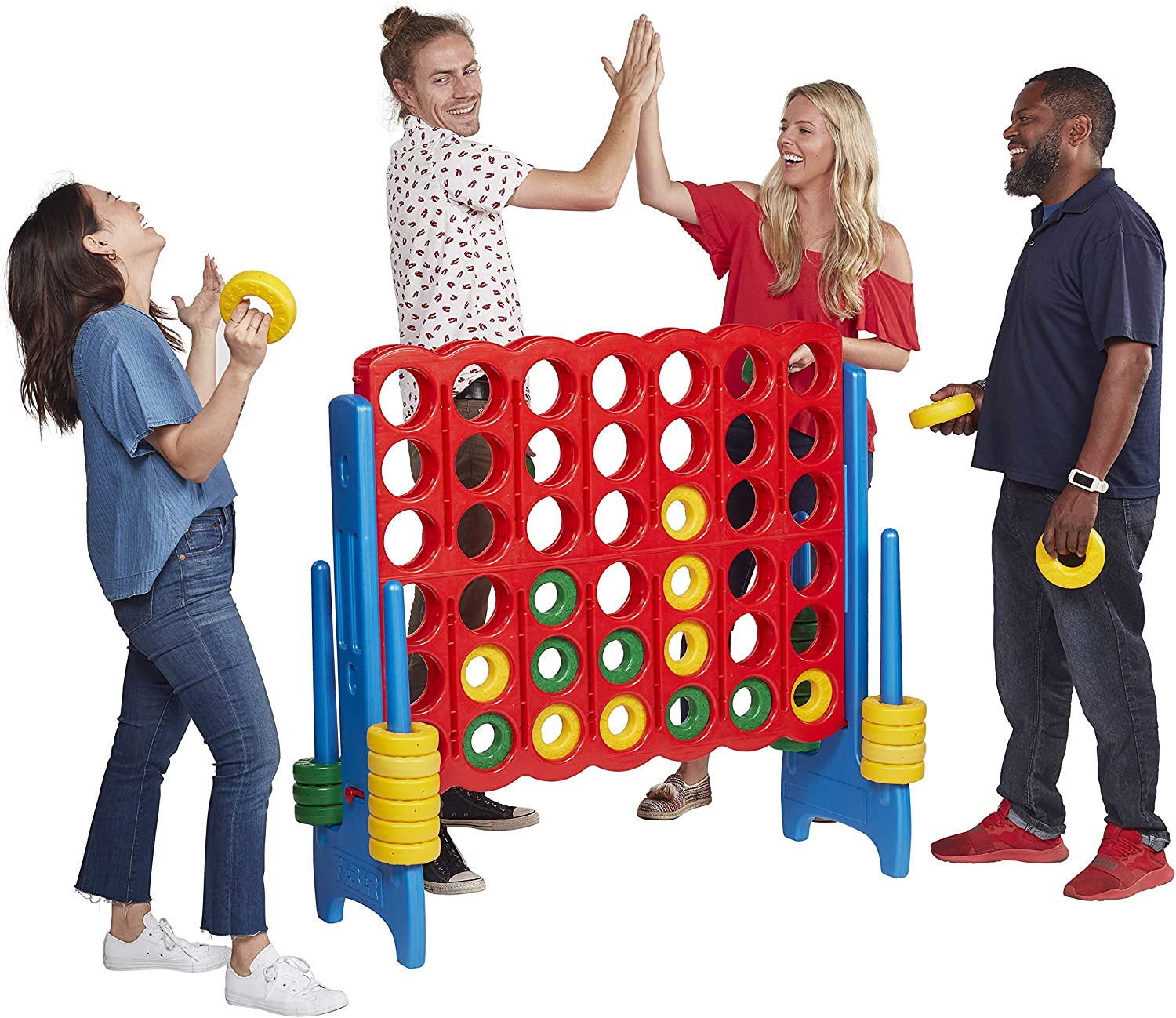 NEW LINE UP 4 GAME IN PRINTED BOX Connect 4 Counters Together Family Fun Games