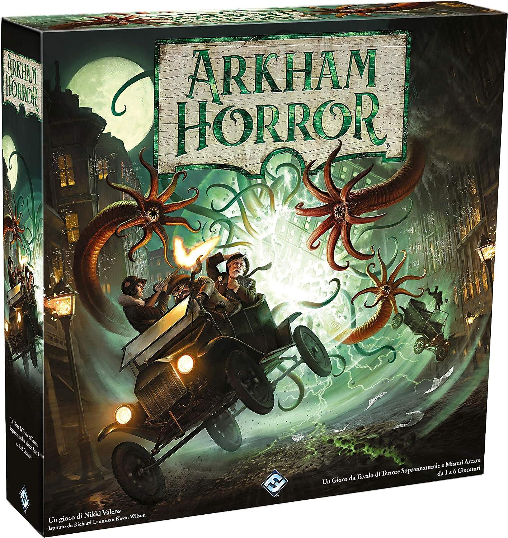 Asmodee- Arkham Horror El Juego de Mesa, 3a Ed. -9626 Italia, Color: Amazon.es: Juguetes y juegos