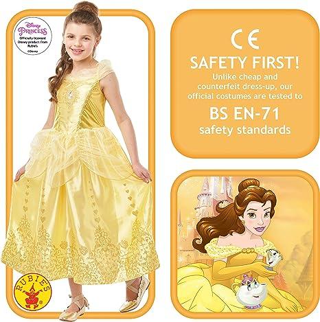 Rubies Gem Princess Belle Fancy Dress Costume Outfit