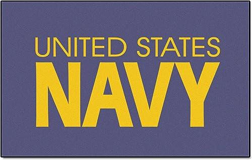 Fanmats Military Navy Nylon Face Ultimat Rug