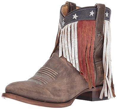 4ab074e5e Amazon.com | Roper Women's Patriotic Fringe Western Boot | Ankle ...