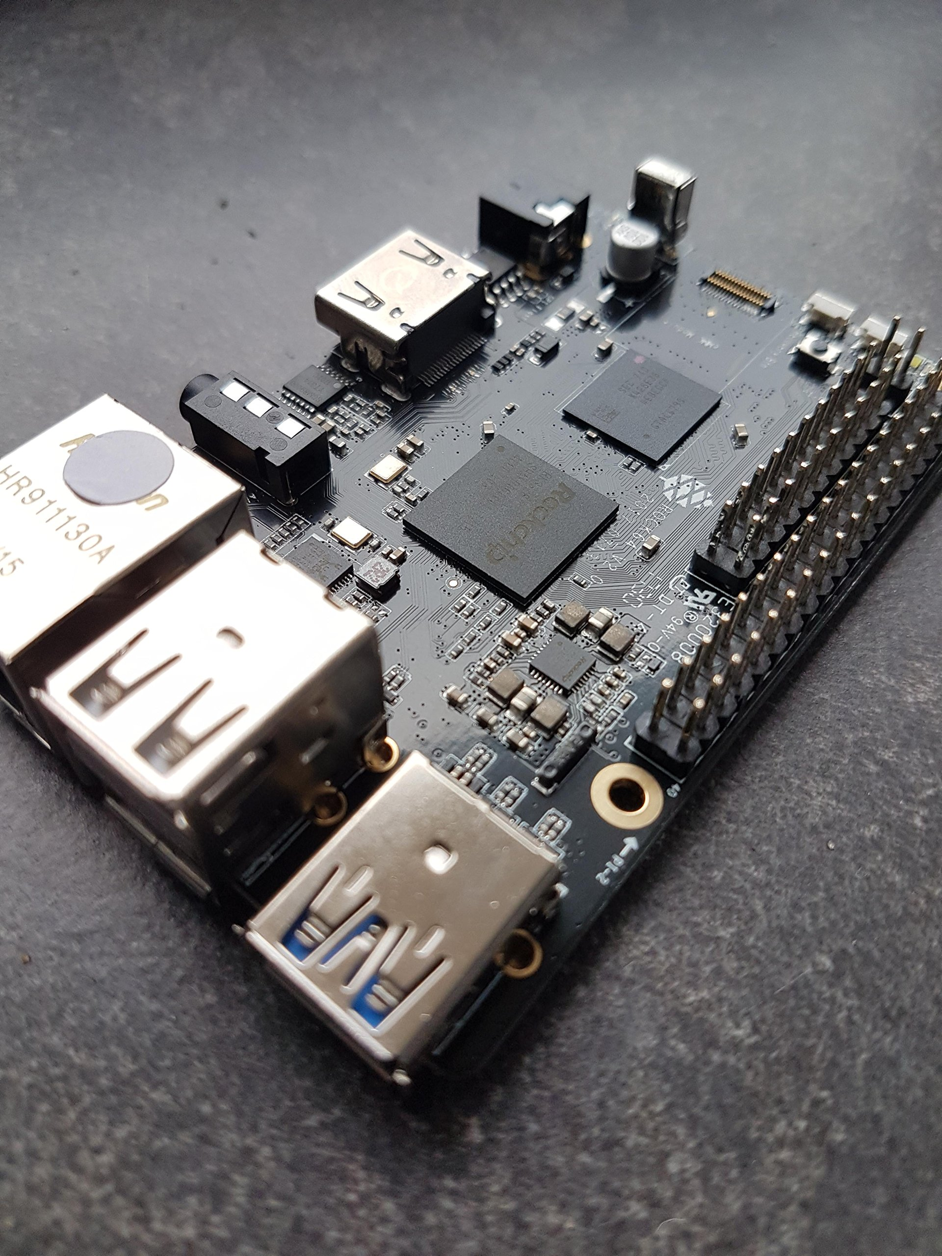 ROCK64 4GB single-board computer - R64-BOARD-4GB < Categories
