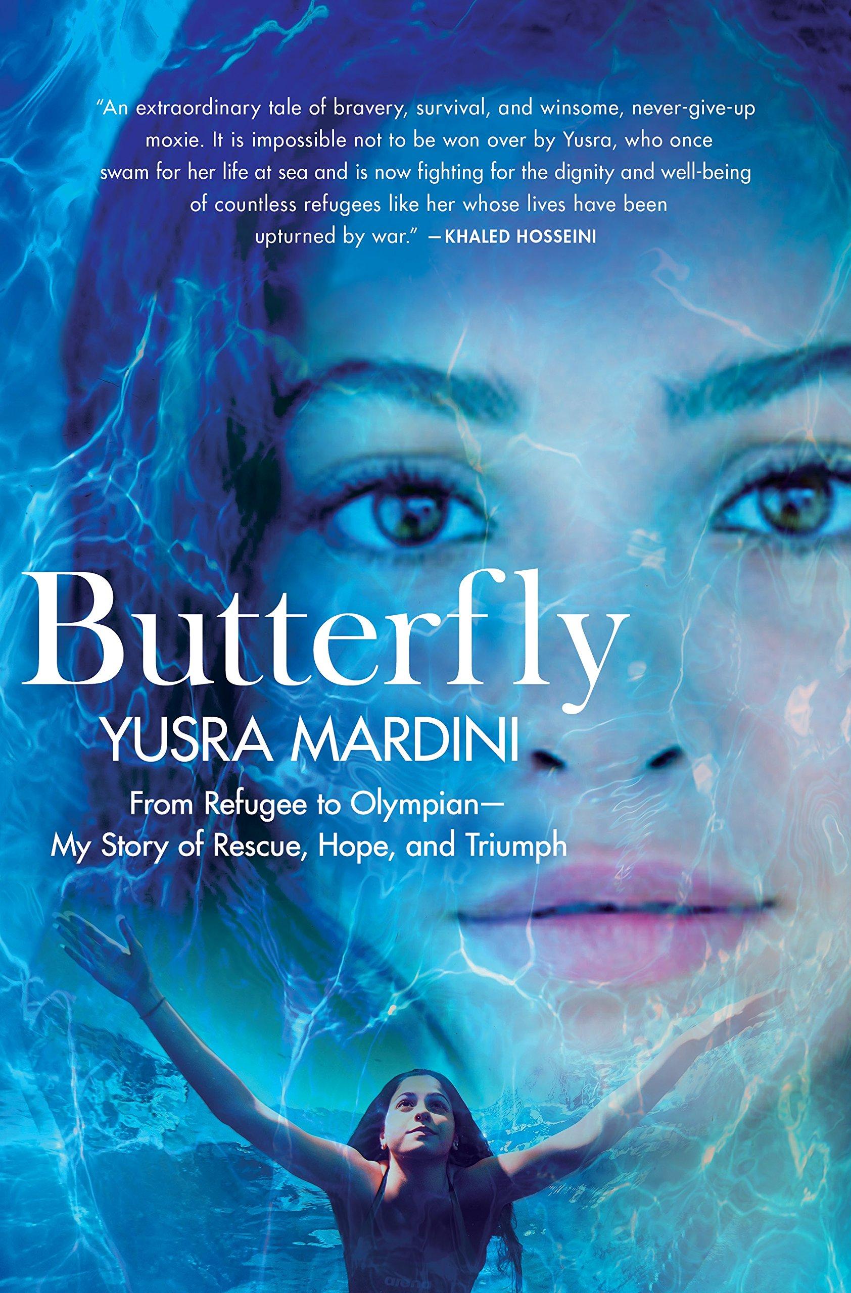 Butterfly Yusra Mardini book cover