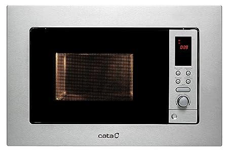 CATA MC 20 D Microondas de integración, 800 W, 20 litros, Acero ...